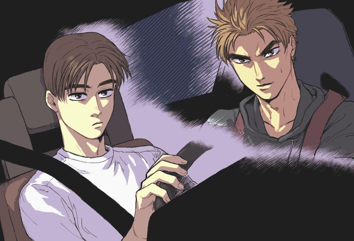 Initial d Initial d, Anime, Jojo bizzare adventure