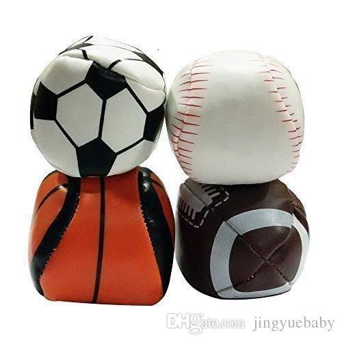 Hacky Sack Balls Outdoor Sports Balls Set Of 4 Football Baseball Basketball Soccer With Mesh Bag For Storage Portable Follow 001 Sports Balls Soccer Sports