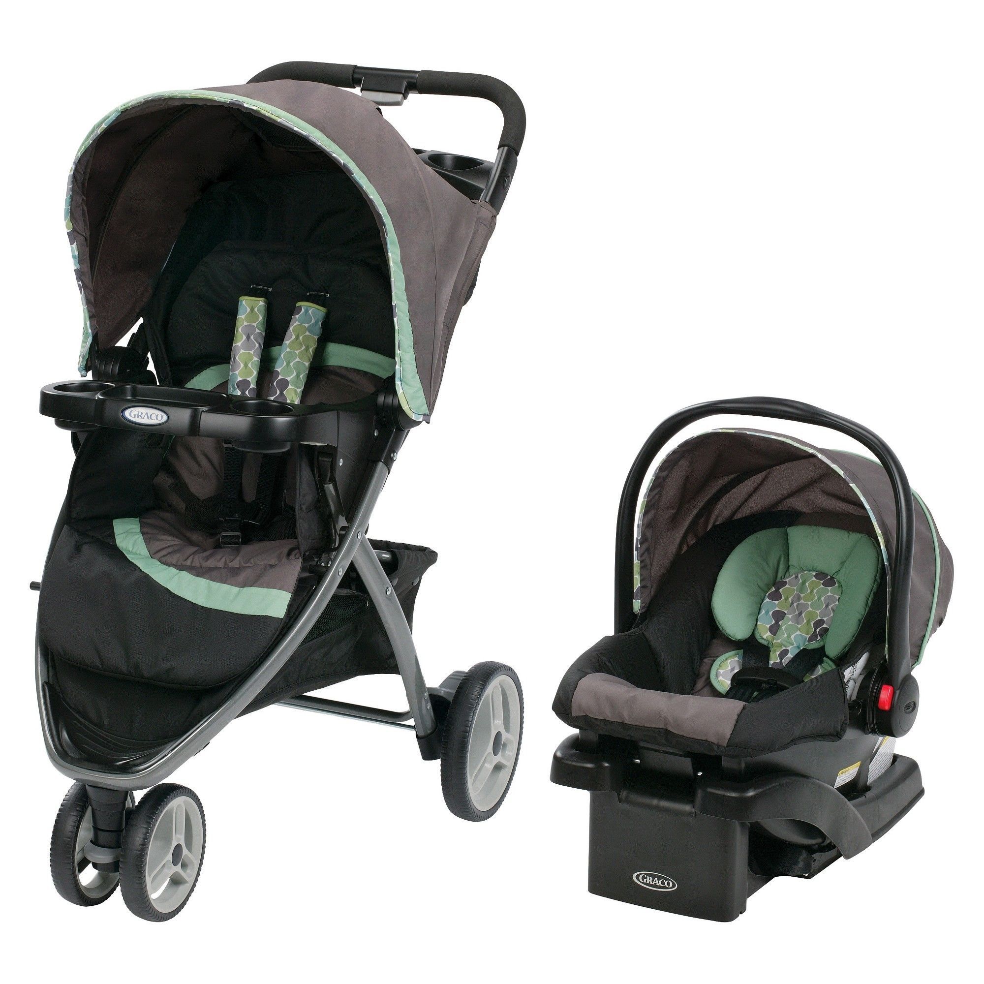 Graco Pace Click Connect Travel System, Ottawa Click