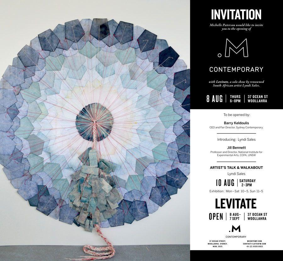 interesting installation by Lyndi Sales for new Sydney