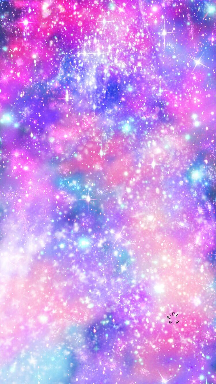 Galaxy Blast Wallpaper/Lockscreen Girly, Cute, Wallpapers