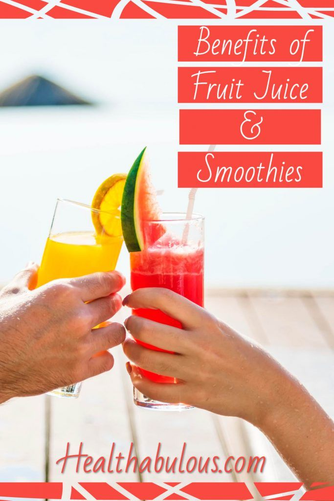 Benefits of Fruit Juice and Smoothies Do you love fruit juices and smoothies but wonder if they really have any benefits? Is fruit juice better for you than a smoothie? | Discover the benefits of Fruit Juice and Smoothies | How Fruit Juices Are Good for You |