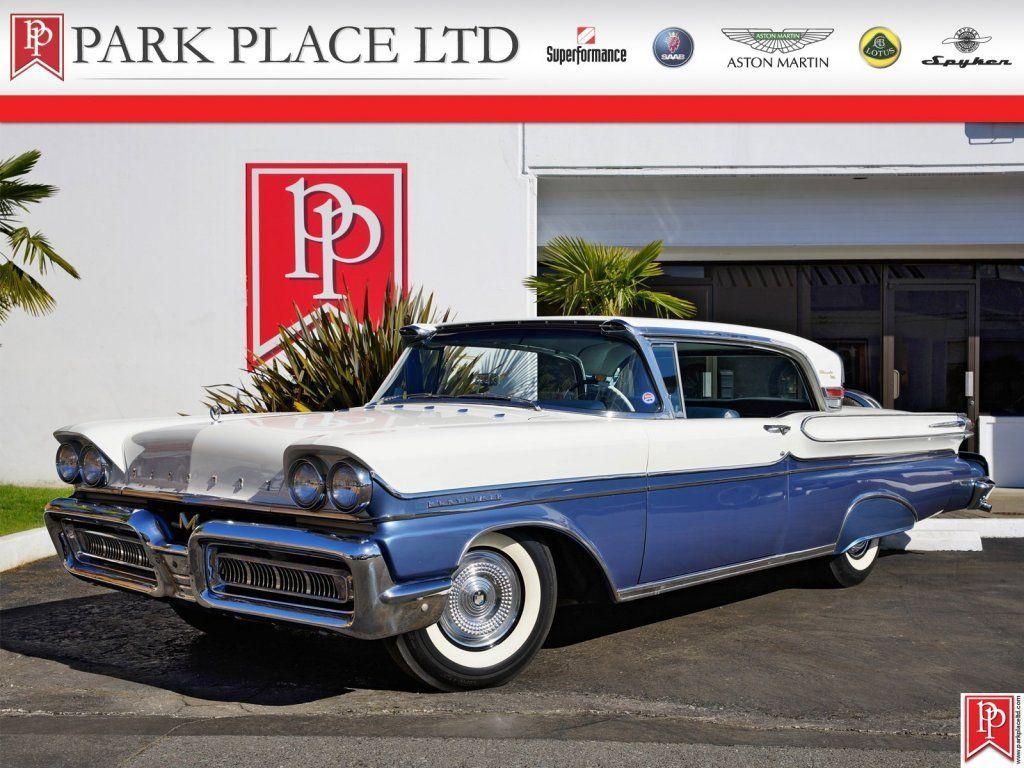 1958 mercury montclair 2 dr coupe for sale