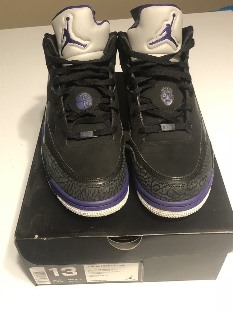 new concept 221e4 b9bfd Air Jordan Son Of Mars Low Size 12 Grape  fashion  clothing  shoes   accessories  mensshoes  athleticshoes (ebay link)