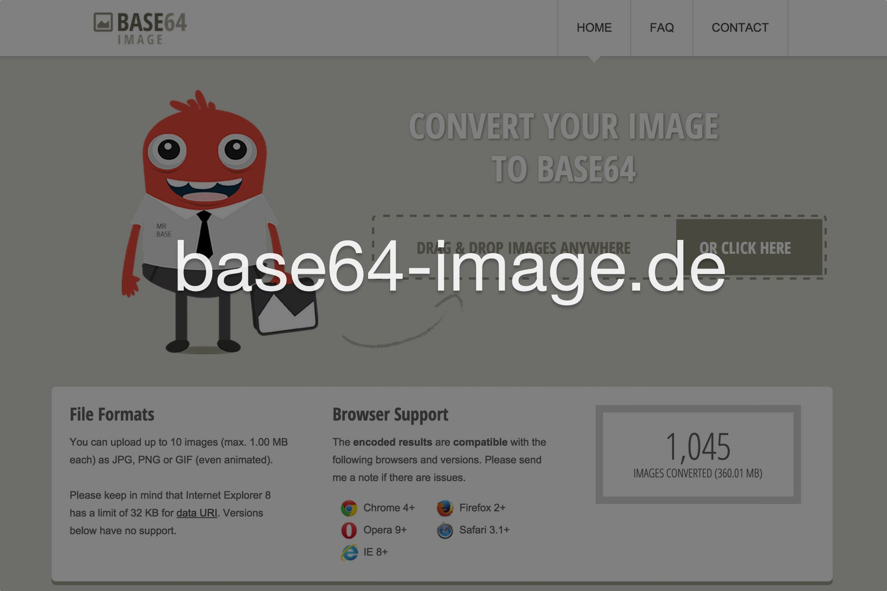 Optimize your images and convert them to base64 online  Drag