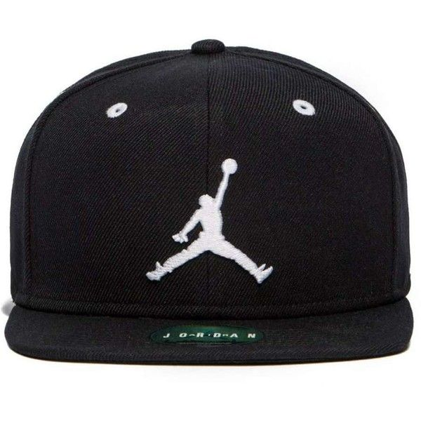 Jordan Jumpman Snapback Cap ( 33) ❤ liked on Polyvore featuring men s  fashion cb72e525d283