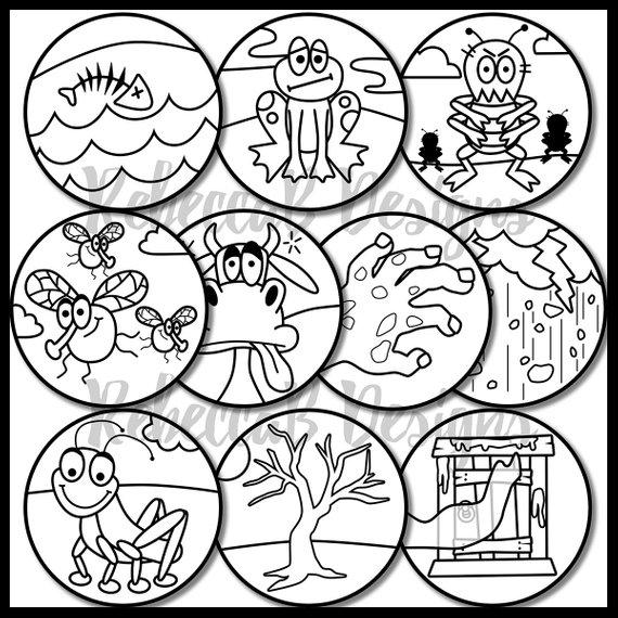 Ten Plagues Of Egypt Clip Art Moses Ten Plagues Clip Art