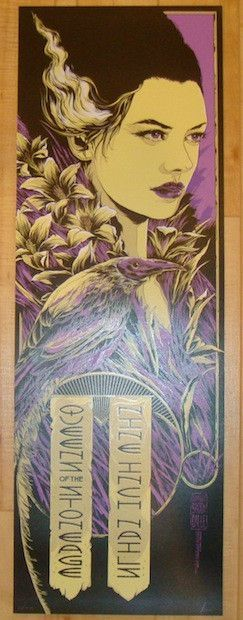2014 Nine Inch Nails - Newcastle Concert Poster by Ken Taylor