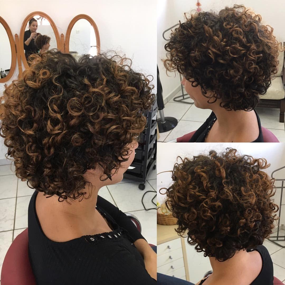 Curto Moderno E Delicado Devacut Devacurl Devacurlpro Cachosbr Cacheadasdoi Short Curly Hairstyles For Women Short Curly Bob Hairstyles Short Curly Bob