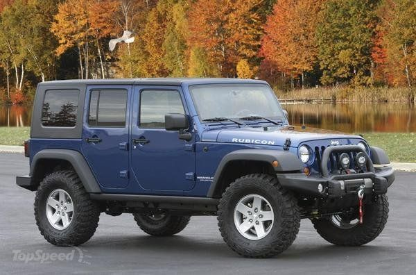 2010 Jeep Wrangler Family Friendly Off Road Edition By Mopar Jeep