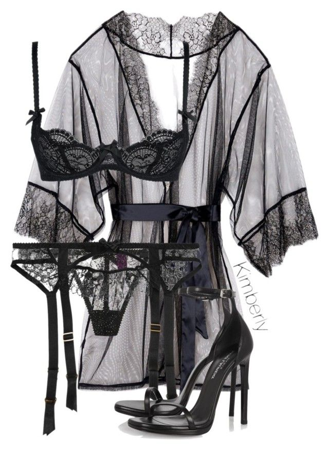 """""""Untitled #1972"""" by whokd ❤ liked on Polyvore featuring L'Agent By Agent Provocateur and Yves Saint Laurent"""
