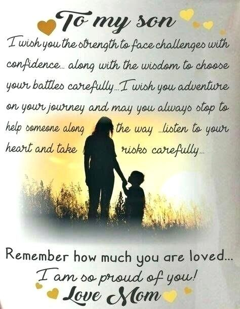 Mother To Son Quotes Honest Mom In Spanish Tsumaniac Me Son Birthday Quotes My Children Quotes Son Quotes