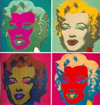 Andy Warhol-Marilyn Monroe
