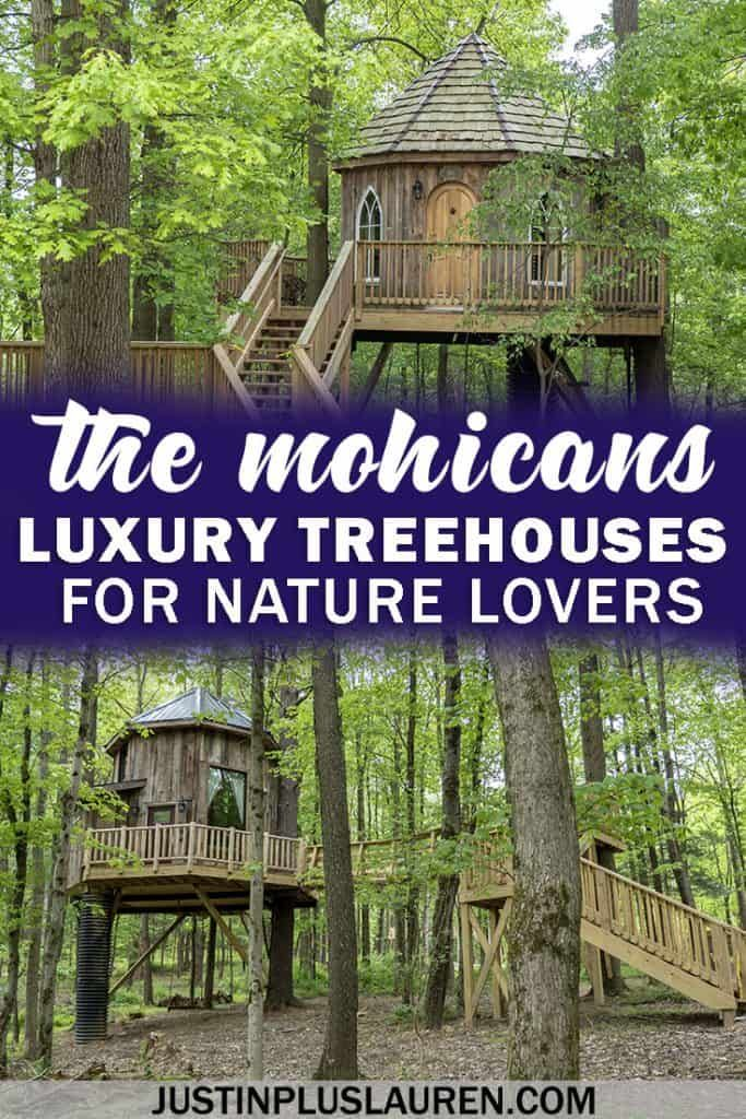 The Mohicans Luxury Treehouses In Ohio For An Extraordinary