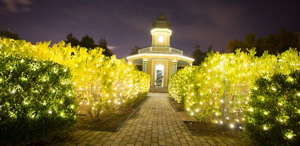 Beau The Missouri Botanical Garden Lights Up This Holiday Season At Garden Glow