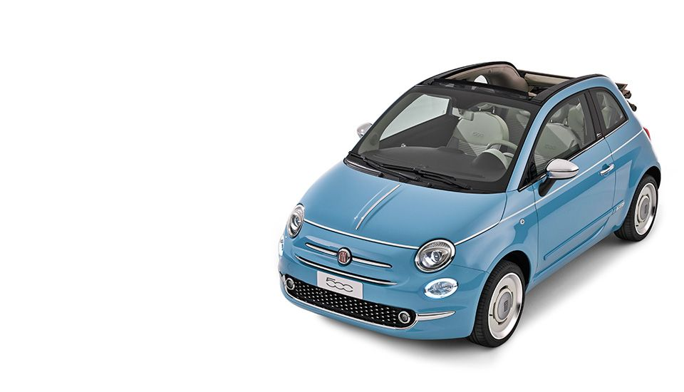 Fiat 500 Spiaggina 58 Linited Edition Cute Car Design From Italy