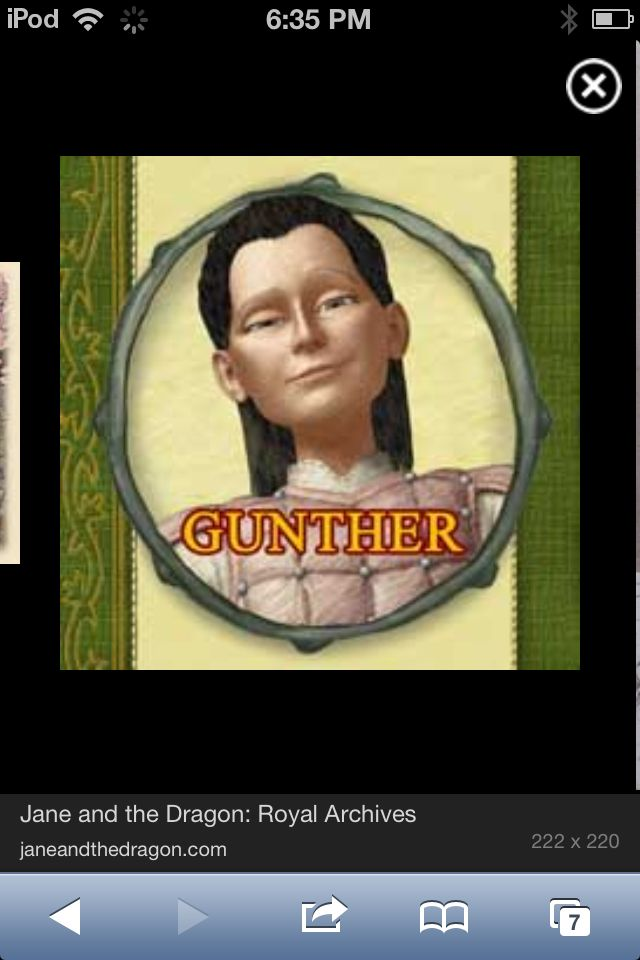 Gunther again. He could be Loki in kid for Oh AND BLACKSMITH  is THOR!!!!!