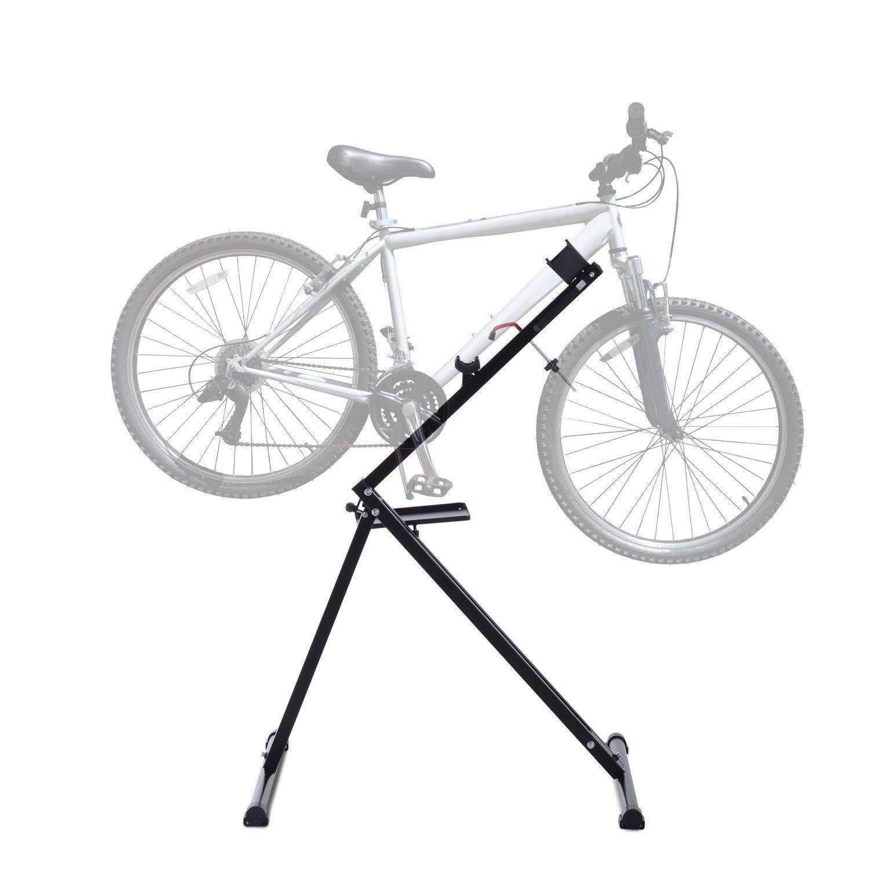 BLACK FRIDAY SALE Portable Bicycle Bike Repair Stand Folding Cycle Mechanic  Rack #bikerepairstand