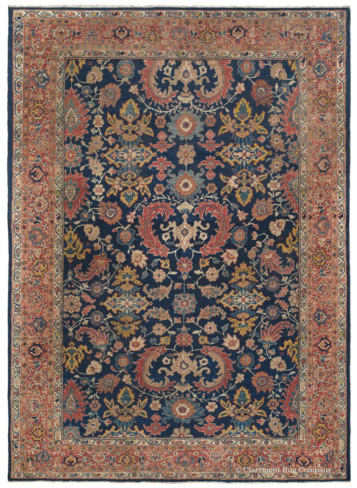 Sultanabad West Central Persian 7ft 11in X 10ft 5in Circa 1900 Rugs Persian Carpet Antique Rugs