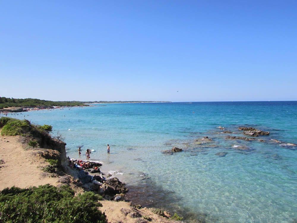 Baia Turchi Spiaggia Spiagge Salento E Spiaggia