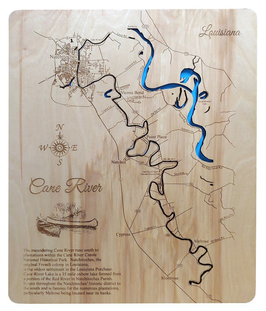 cane river louisiana map Pin On Cane River Louisiana cane river louisiana map