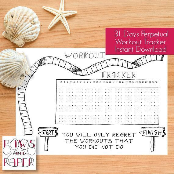 #printable #workout #tracker #planner #inserts #fitness ,  #Fitness #Inserts #Planner #Printable #Tr...