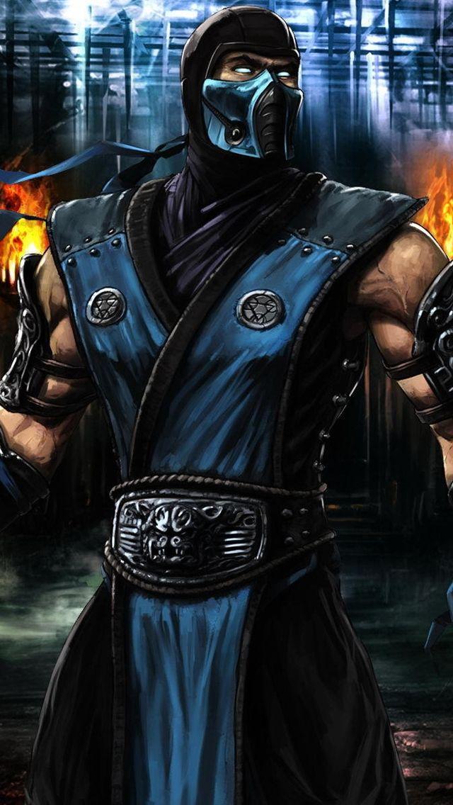 New Mortal Kombat iPhone 5 Wallpaper Mortal kombat