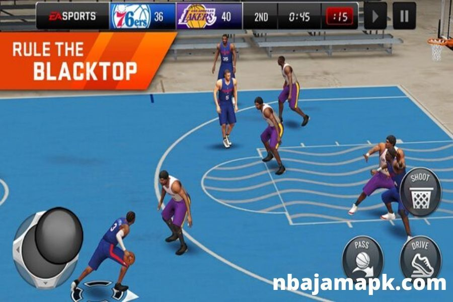 NBA JAM BY EA SPORTS APK in 2020 Basketball games online