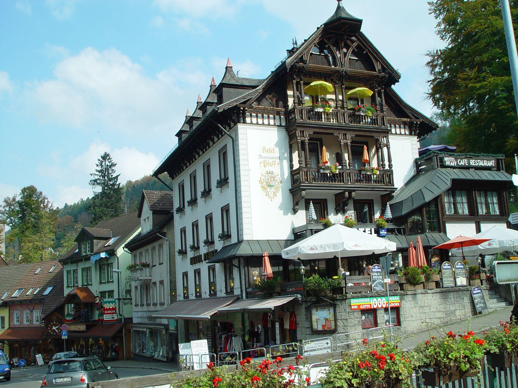 Triberg Germany Im Schwarzwald Hotel Pfaff