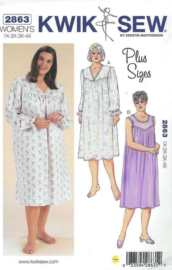 plus size dress jacket set 9754   Plus Size Nightgowns   Pinterest