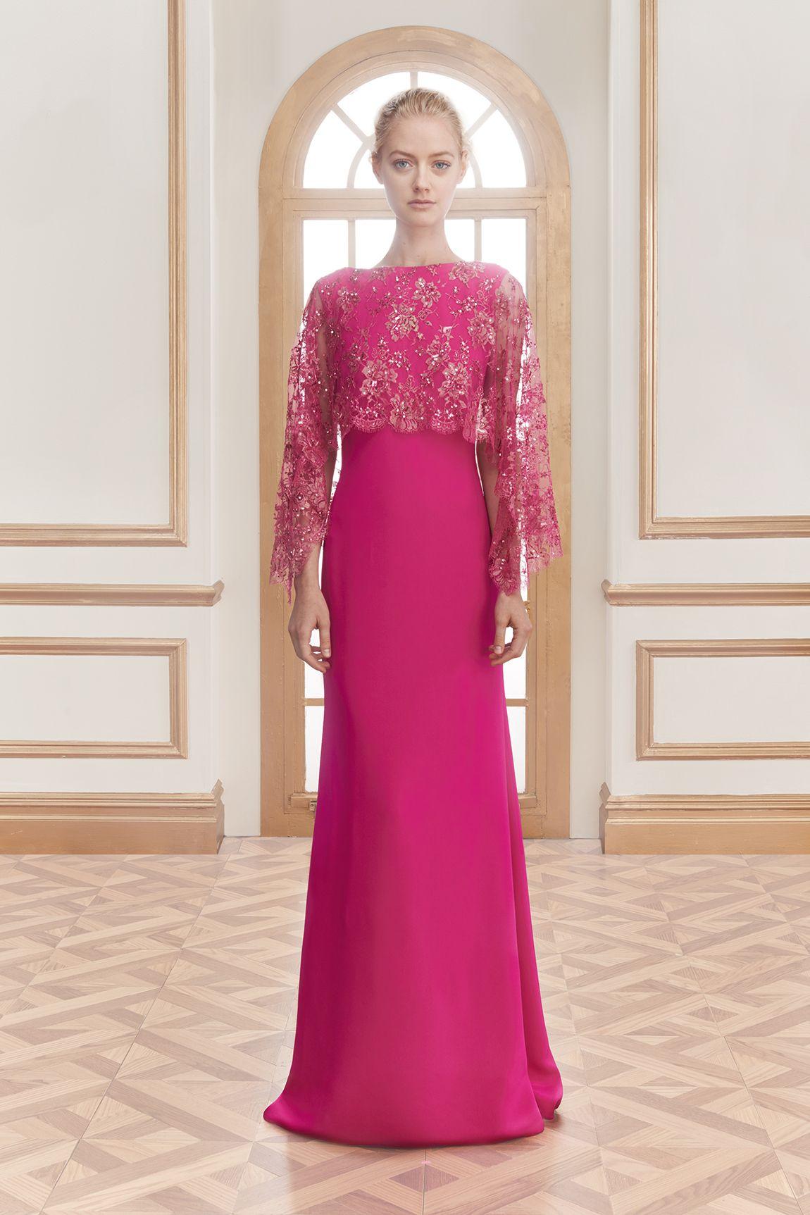 Reem Acra   Best of Resort 2016   Pinterest   Vestidos alta costura ...