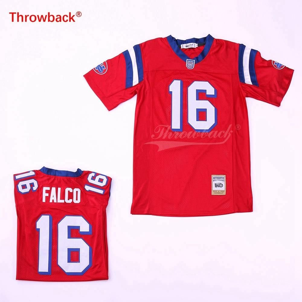 SHANE FALCO FOOTBALL JERSEY  RED NEW SEWN ANY SIZE Sports Mem, Cards & Fan Shop THE REPLACEMENTS MOVIE
