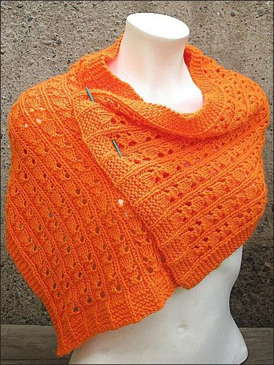 Knitting - Accessory Patterns - Shawl & Wrap Patterns - Easy-to-Knit ...
