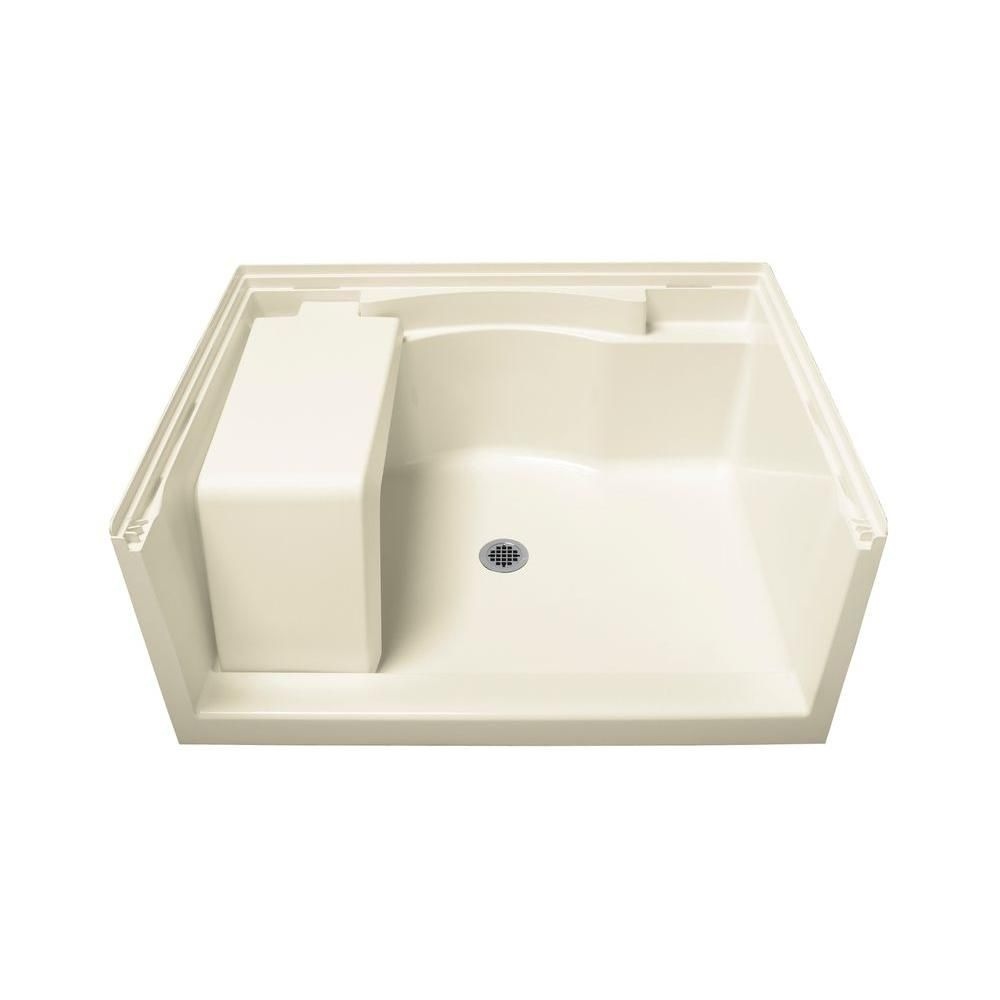 Sterling Accord Seated 48 In X 36 In Single Threshold Base In