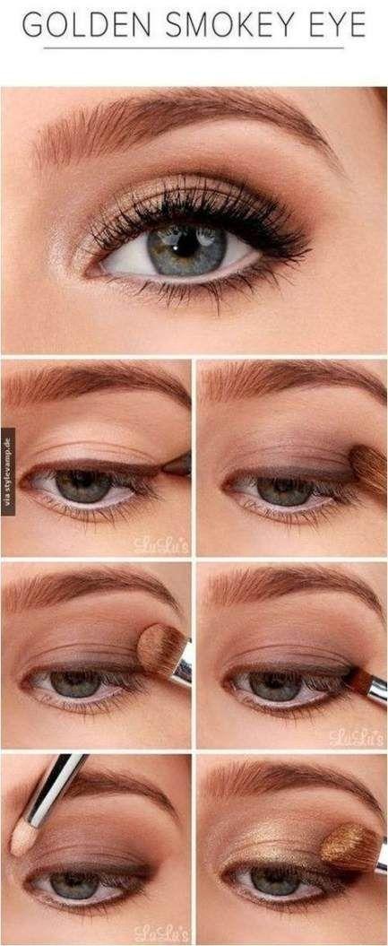 58 trendige Make-up-Tipps für Anfänger Eyeliner Schritt für Schritt Lidschatten - Anfänger ...