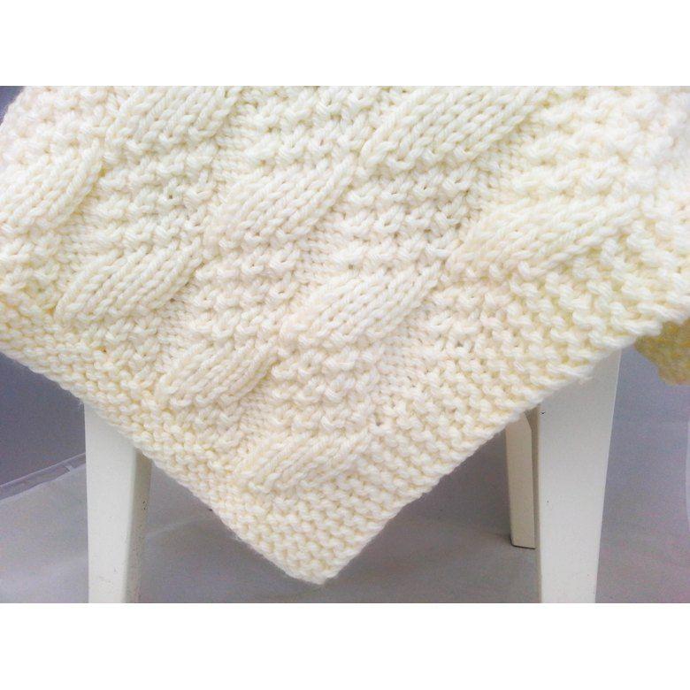 Bulky Baby Blocks Blanket Knitting pattern by ...
