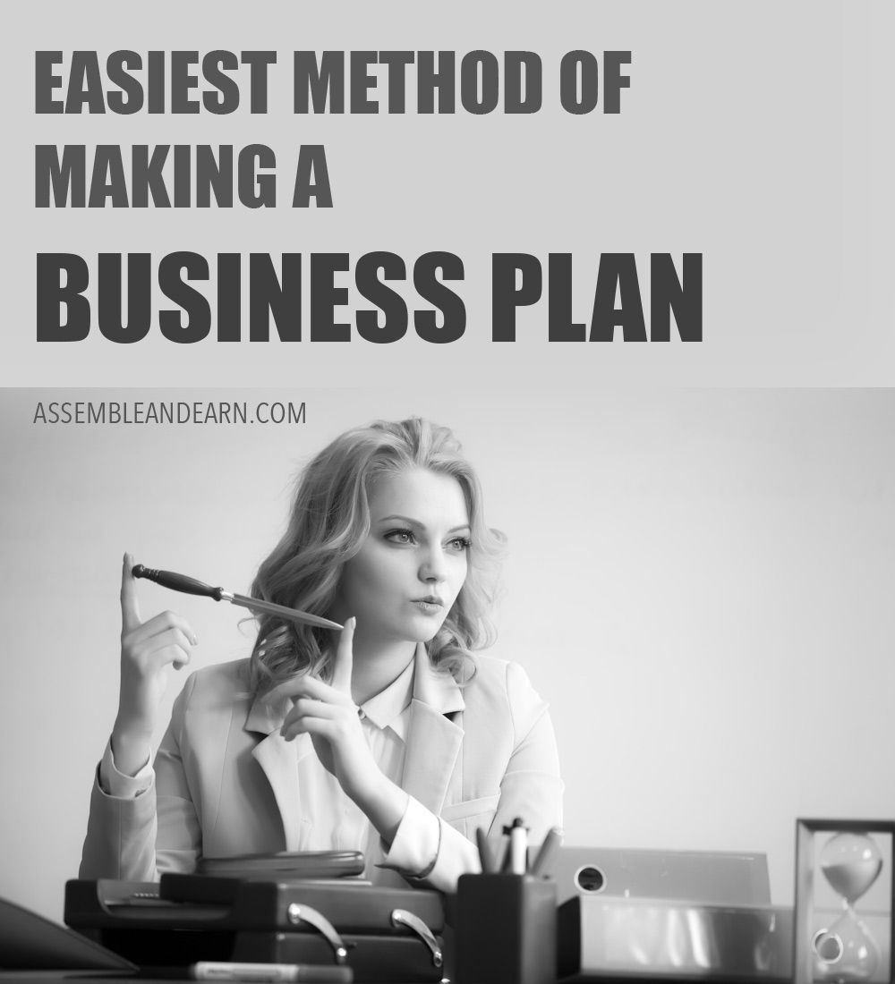 The Easiest Way To Write A Great Business Plan For Your Small ...
