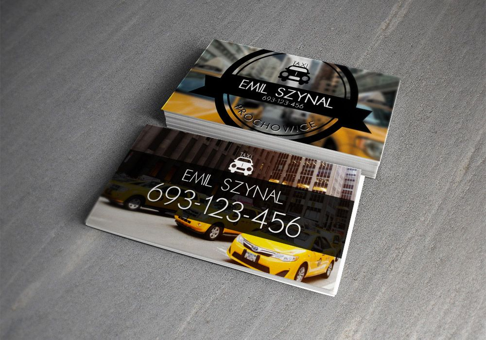 15 Business Card Designs For Taxi Business Tarjetas Taxis Tarjeta