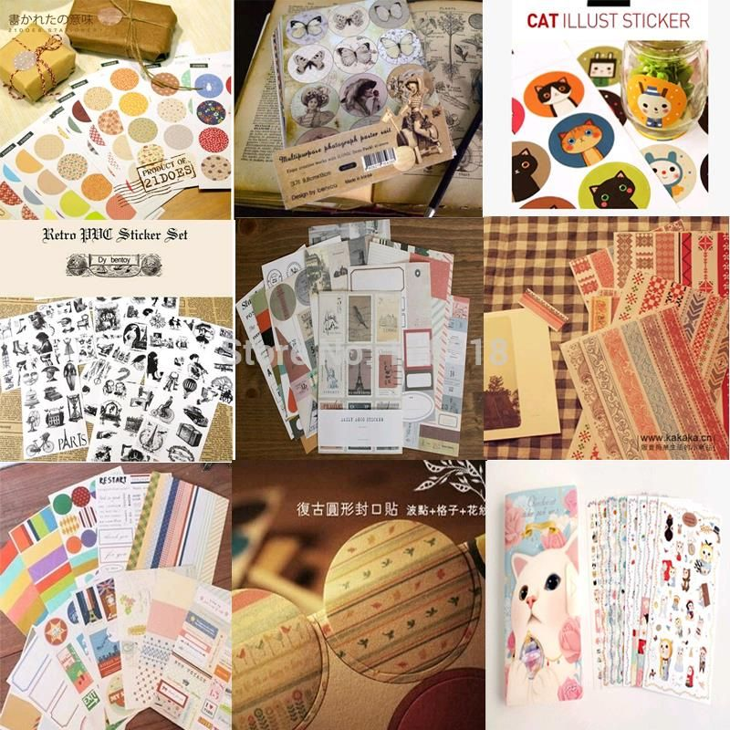 Cheap Wedding Photo Album Buy Quality Directly From China Retro Suppliers Special Offer DIY Scrapbooking Paper Stickers Vintage