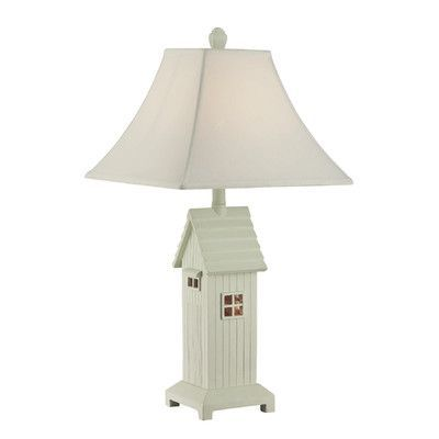 """Lite Source Lodge 28.5"""" H Table Lamp with Bell Shade"""