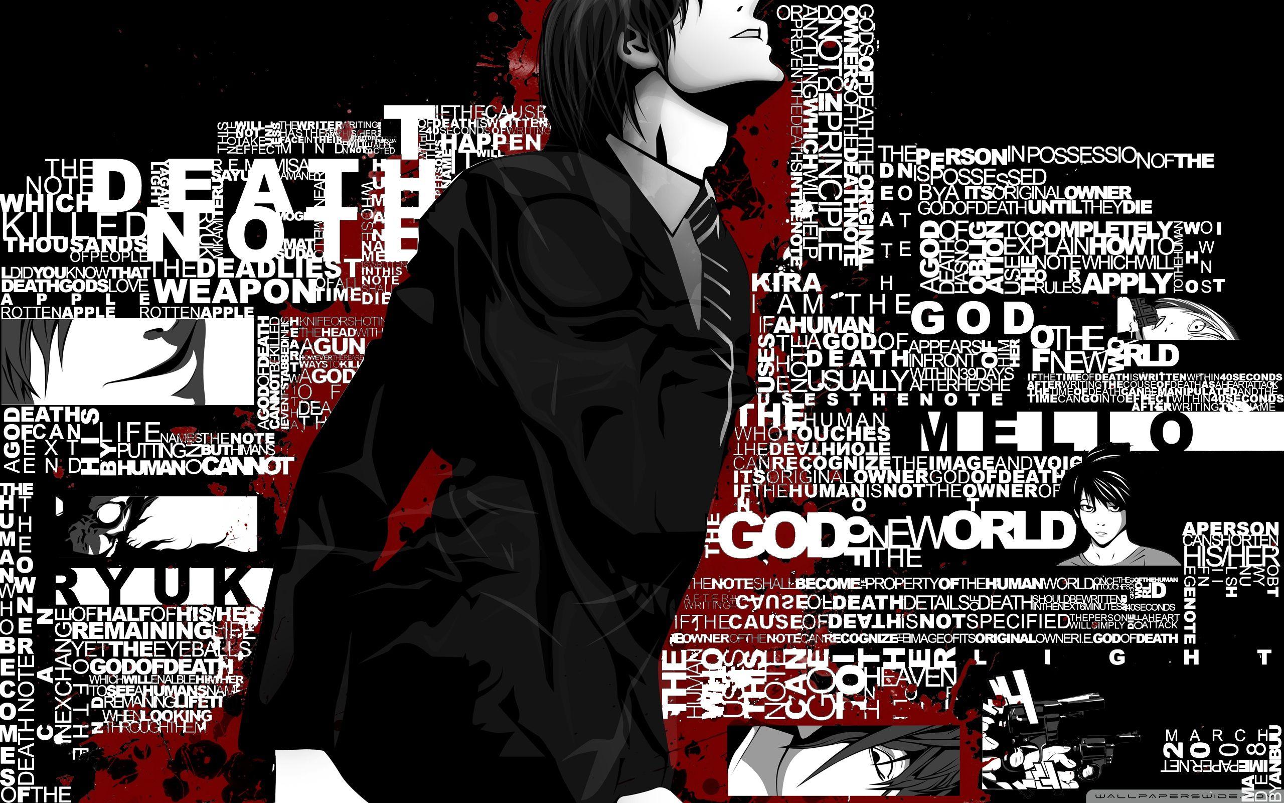 Light Yagami (Kira)   Nota De Muerte   Death note, Death ...