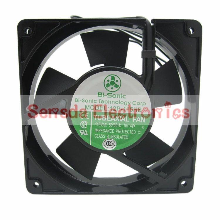 Bi Sonic 12p 115hb 12cm 120mm 12025 Ac110v 16 14w Industrial