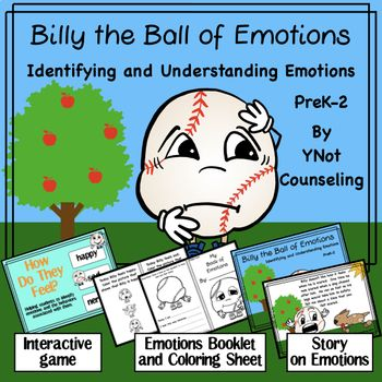 Emotions Billy the Ball of Emotions Students, Teacher and
