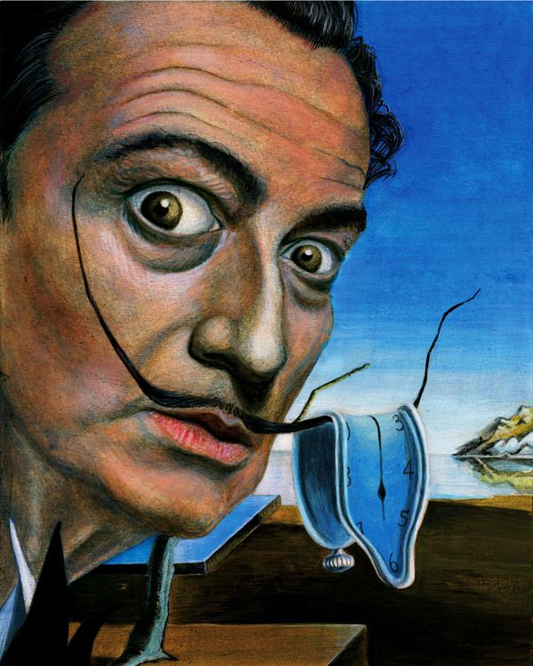 SALVADOR DALI.....ON BEHANCE...... | Art | Pinterest | Behance ...