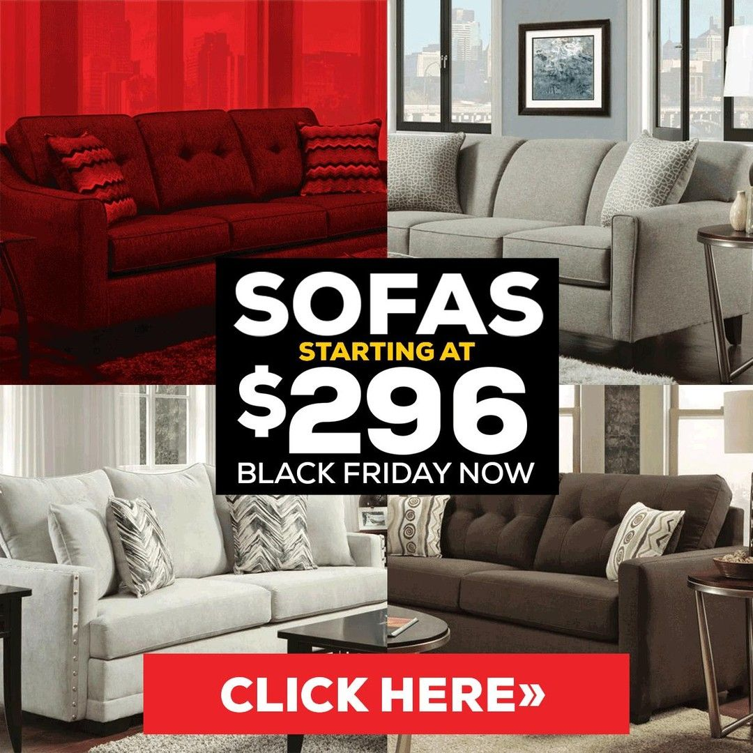 Sofas Starting At 296 It S Black Friday Now See It At Bob Mills Furniture Https Www Bobmillsfurniture Com Black Fri In 2020 Sofa Sale Furniture House Interior