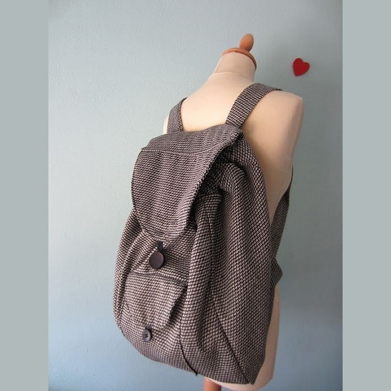 34bf43da73 ΤΣΑΝΤΑ ΠΛΑΤΗΣ BACKPACK Μια πανέμορφη τσάντα πλάτης ή αλλιώς backpack! Με  οδηγίες βήμα βήμα και εικόνες