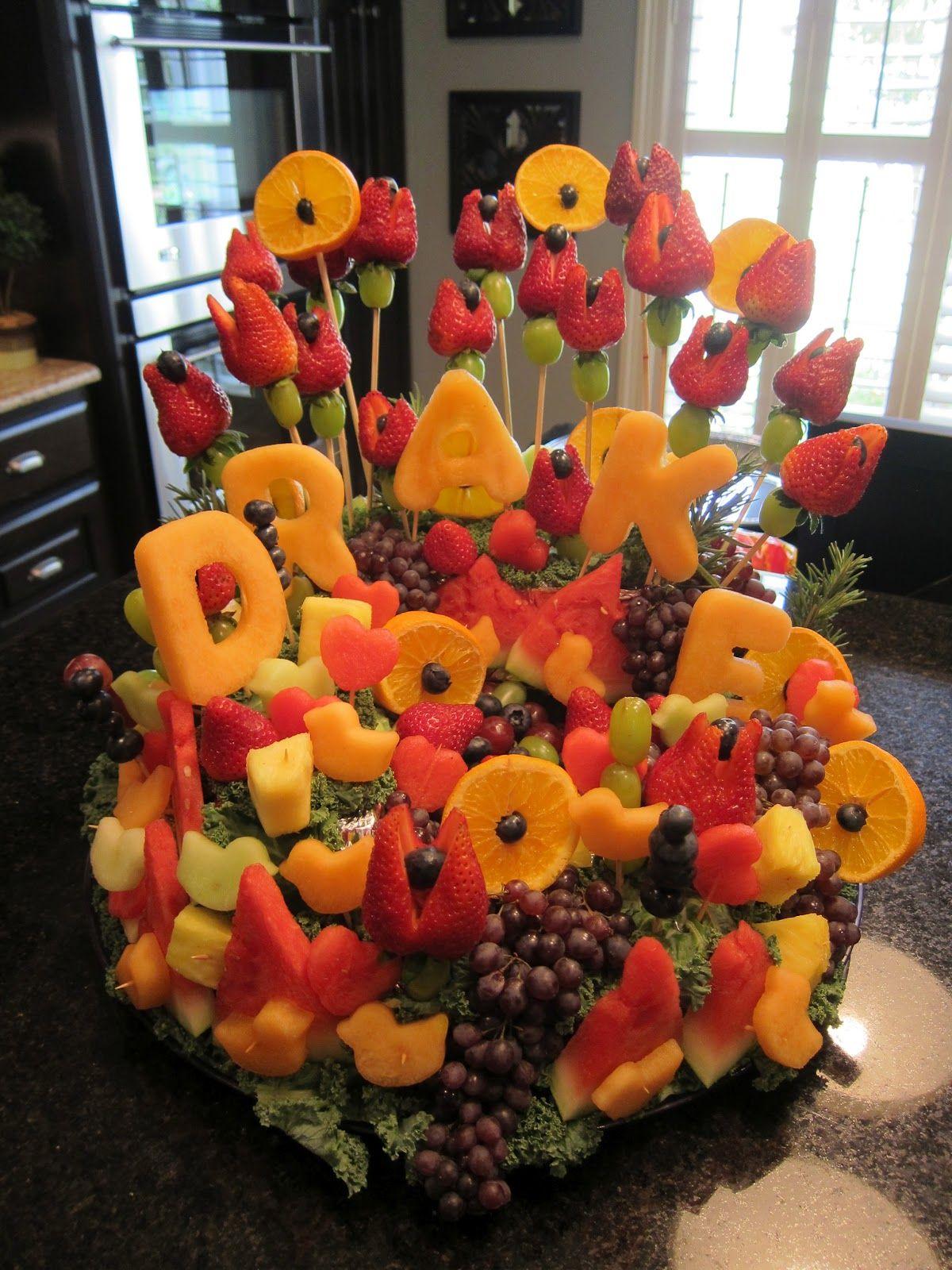 Fruit Platter wedding party shower ideas Pinterest