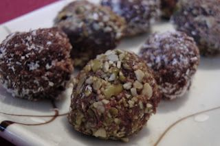 Chocolate Truffle Bliss Balls