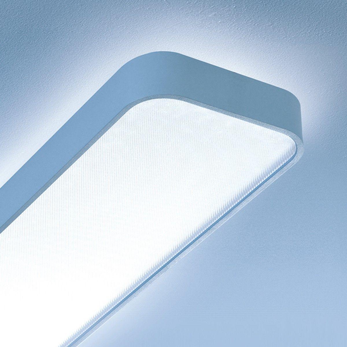 Lightnet Caleo X1 Deckenleuchte Lange 120 Cm Silber Matt