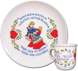 Rida Rida Ranka Child's Set -I'd love to have a good breakfast with it